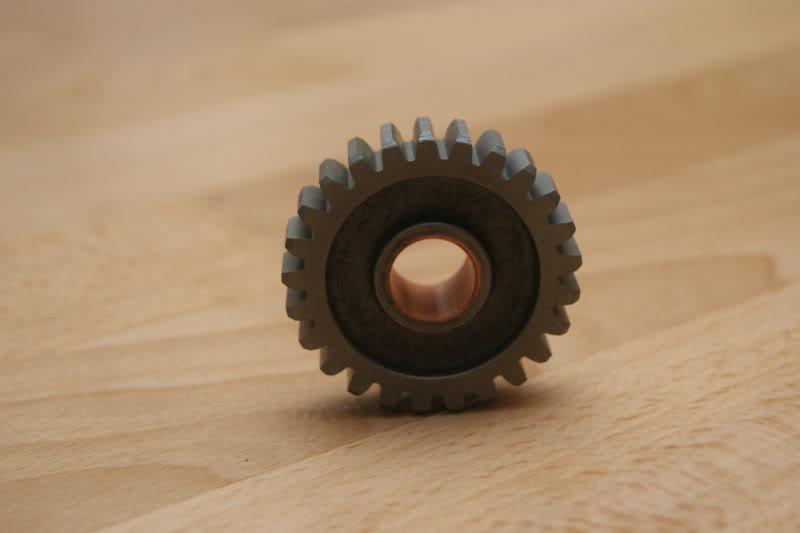 6th gear set (5 piece item) rm500