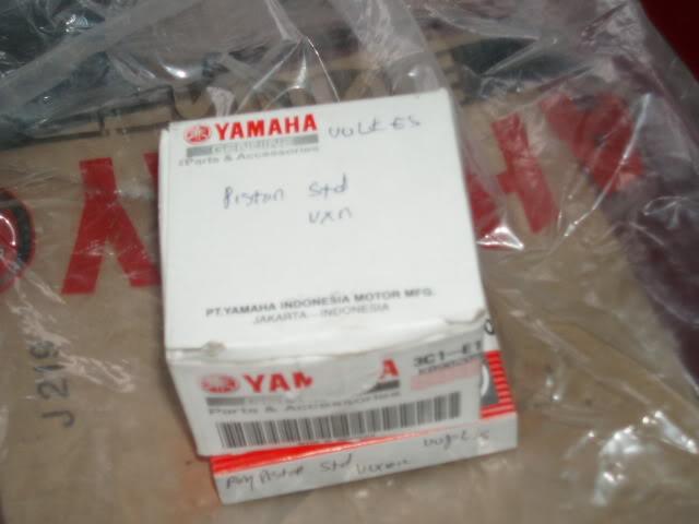 YAMAHA FZ150i ORIGINAL CYLINDER FULL SET RM500 P9300720
