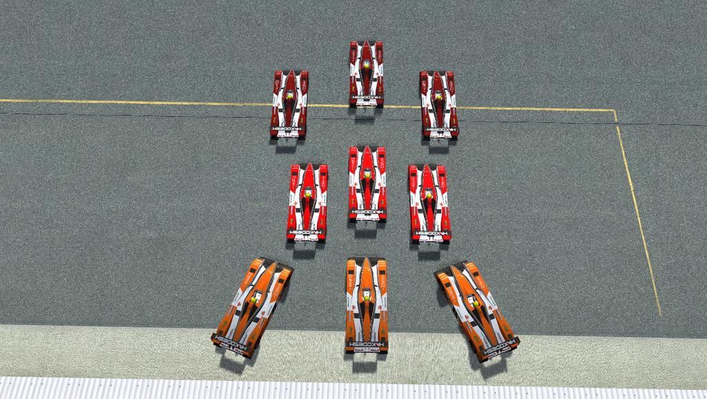 Em um treino aberto, Nismo Virtual Racing apresenta seus submarinos hackers. 2016-09-12%2022-20-30.248