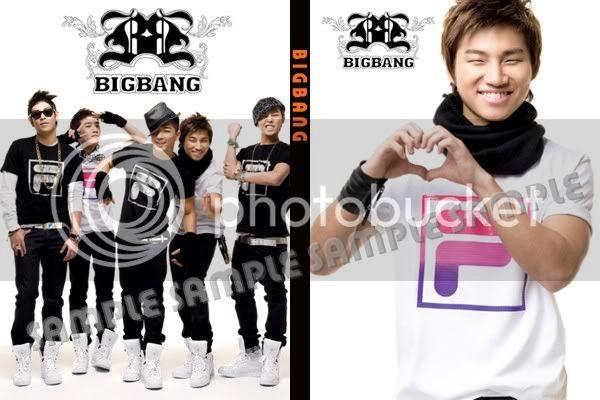 สมุดโน้ต BIGBANG  เวอร์ชั่น  FILA ครบ 5 ลาย (25.-/เล่ม) BB_DS