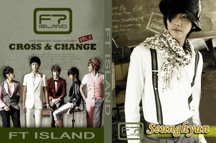สมุดNote FT ISLAND ( CROSS&CHANGE) / 25.- สินค้าใหม่ล่าสุด FTCCSH