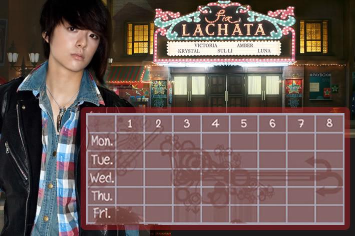 (Time table) ตารางเรียน F(x) Lachata FX-AB