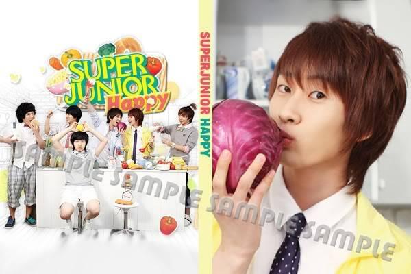 สมุดโน้ตเวอร์ชั่น HAPPY (cooking,cooking) SJ_HAPPY1