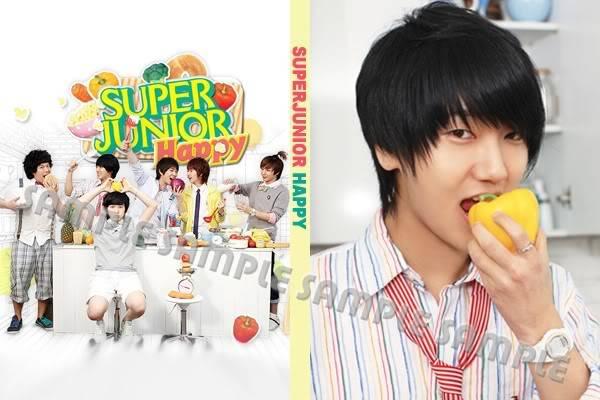 สมุดโน้ตเวอร์ชั่น HAPPY (cooking,cooking) SJ_HAPPY3