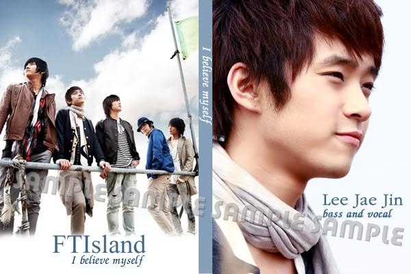 สมุดNote FT ISLAND ( I believe myself )  / 25.- I-believe-my-self_FT1jaejin