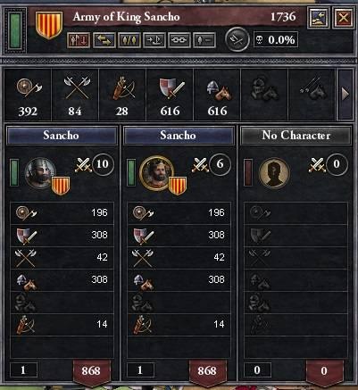 Let's play Crusader Kings 2 Army
