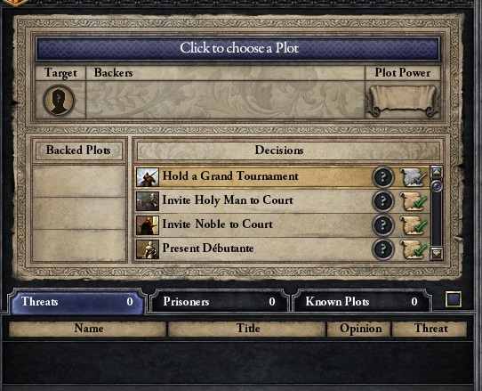 Let's play Crusader Kings 2 Ck2_4_plotscreen
