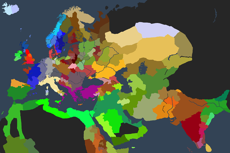 Let's play Crusader Kings 2 Ck2map