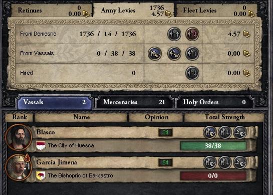 Let's play Crusader Kings 2 Levy