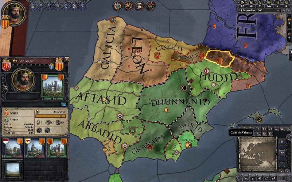 Let's play Crusader Kings 2 Map1-1