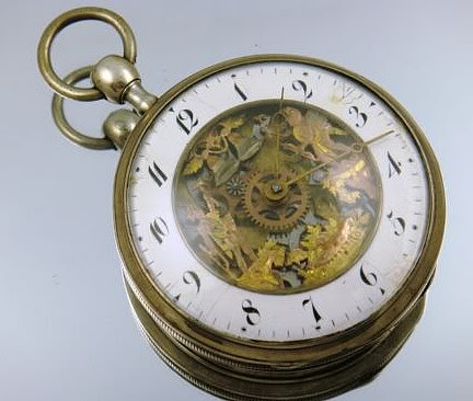 IMPORTANT GUIDE : how to recognise FAKE AUTOMATON POCKET WATCHES A1-1