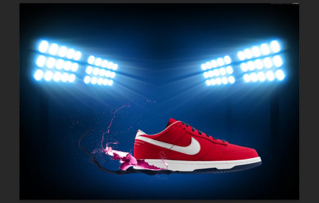 [TUT Ps] Design Poster Nike Dunk 10