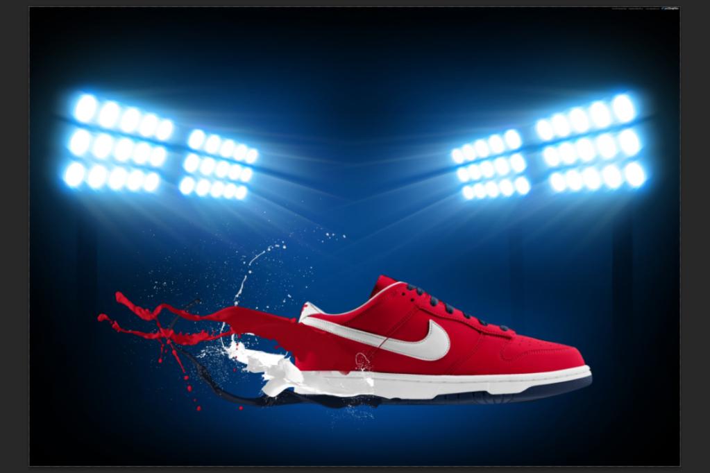 [TUT Ps] Design Poster Nike Dunk 17