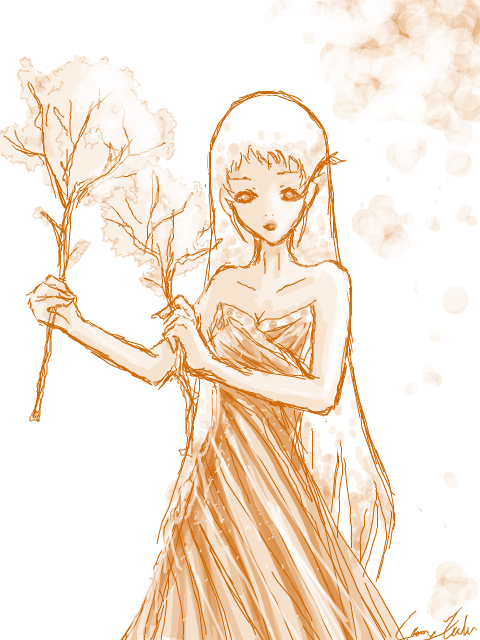 Just Sharing Some of My Works. =} Tegaki-TreePersonified