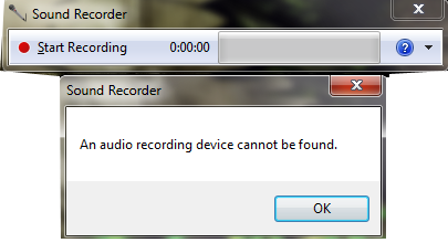 Microphone Problem Micprob1