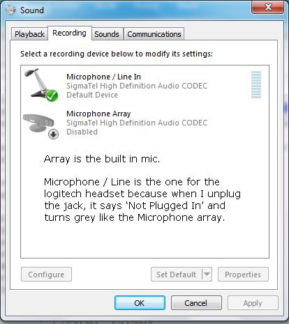 Microphone Problem Micprob2