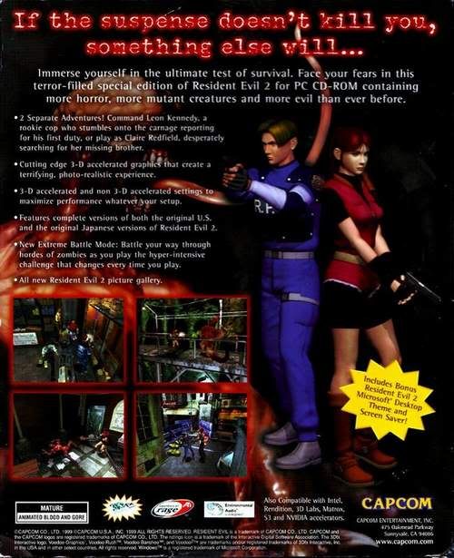 Resident Evil 2 two discs iso RE2_back