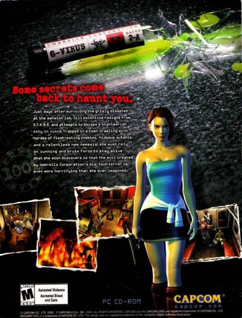 Resident Evil 3 (Nemesis) ISO ResidentEvil3_back