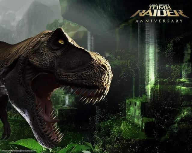 Games wallpapers collection Dinosaur-garden