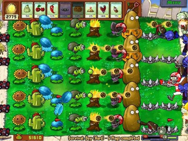 [copied] Plants vs. Zombies Pvsz