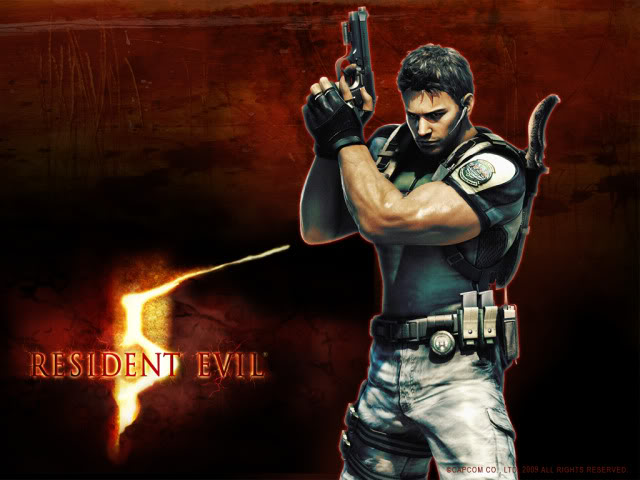 Games wallpapers collection Resident-evil-5-chrisredfield2