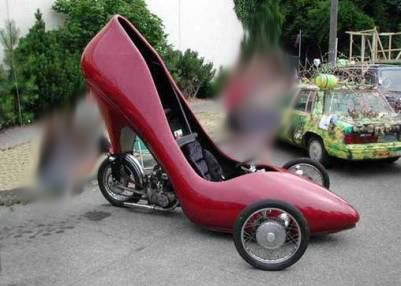 All strange and funny pictures, please put yours here Strange-vehicles-shoe-car