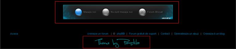Cineva a facut o tema si a adaugat ceva in css sub Creeaza un forum gratuit etc. si asa vrea sa stiu daca este voie Dovada-1