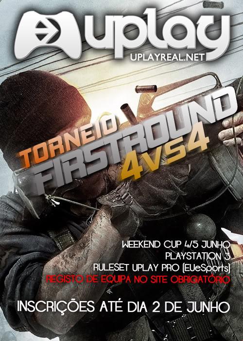 "uPlay l ""Torneio 1st round"" - BO FirstRoundPS3"