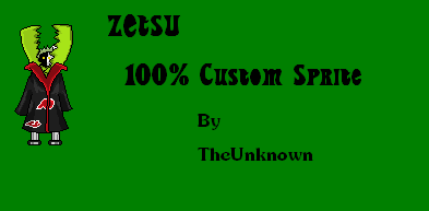 All Spriters Zetsu