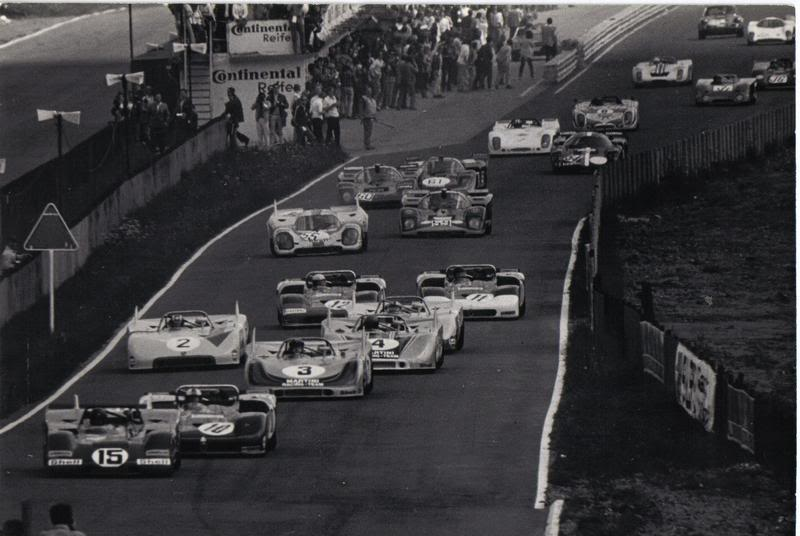 Le mythe de la Daytona 1971nurburgring