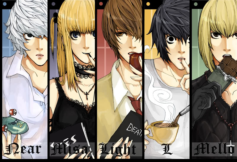 خط هاوي . Hawi font arabic   DeathNote_Bookmarks_by_Harusaki