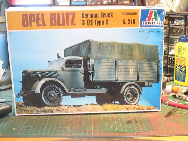 Opel Blitz (Italeri 1/35) Bote