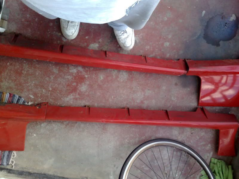 Wanted: Front and rear bumpers 07042010555