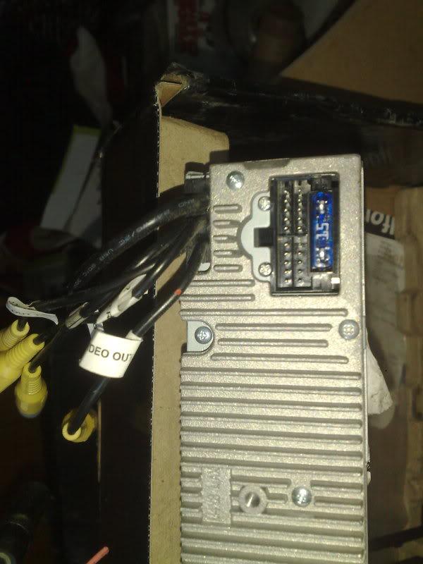 dvd player head unit /oil filter relocater sandwich plate 11042010562