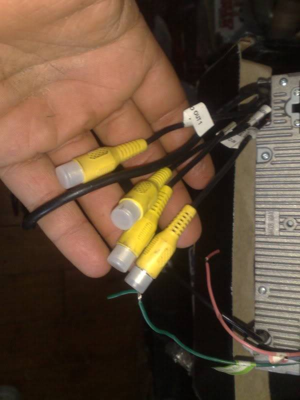 dvd player head unit /oil filter relocater sandwich plate 11042010563