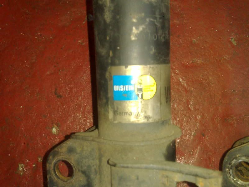 BILSTEIN FRONT SHOCKS /STOCK REAR SHOCKS 22112009405