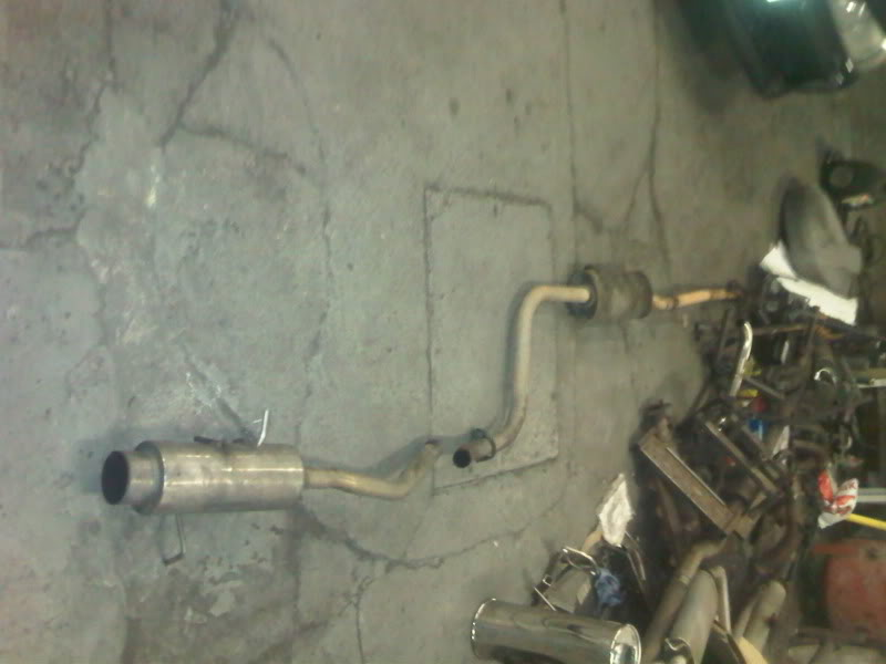 full exhaust system  IMG00017-20101013-1653
