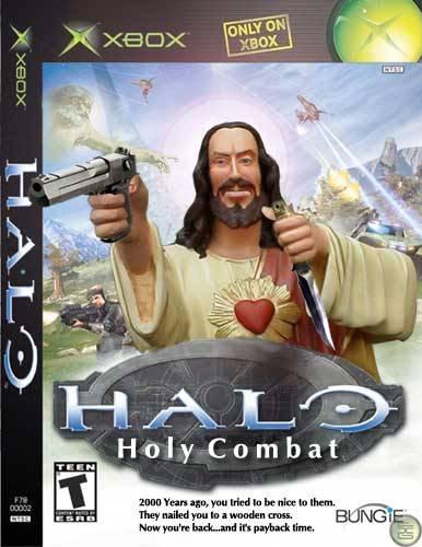 Portadas de juegos  fakes Holycombat