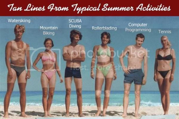 Funny pictures Tanlines