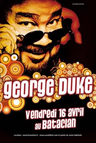 George Duke en concert le 16 avril at Paris + PLACE A GAGNER ! GeorgeDuke