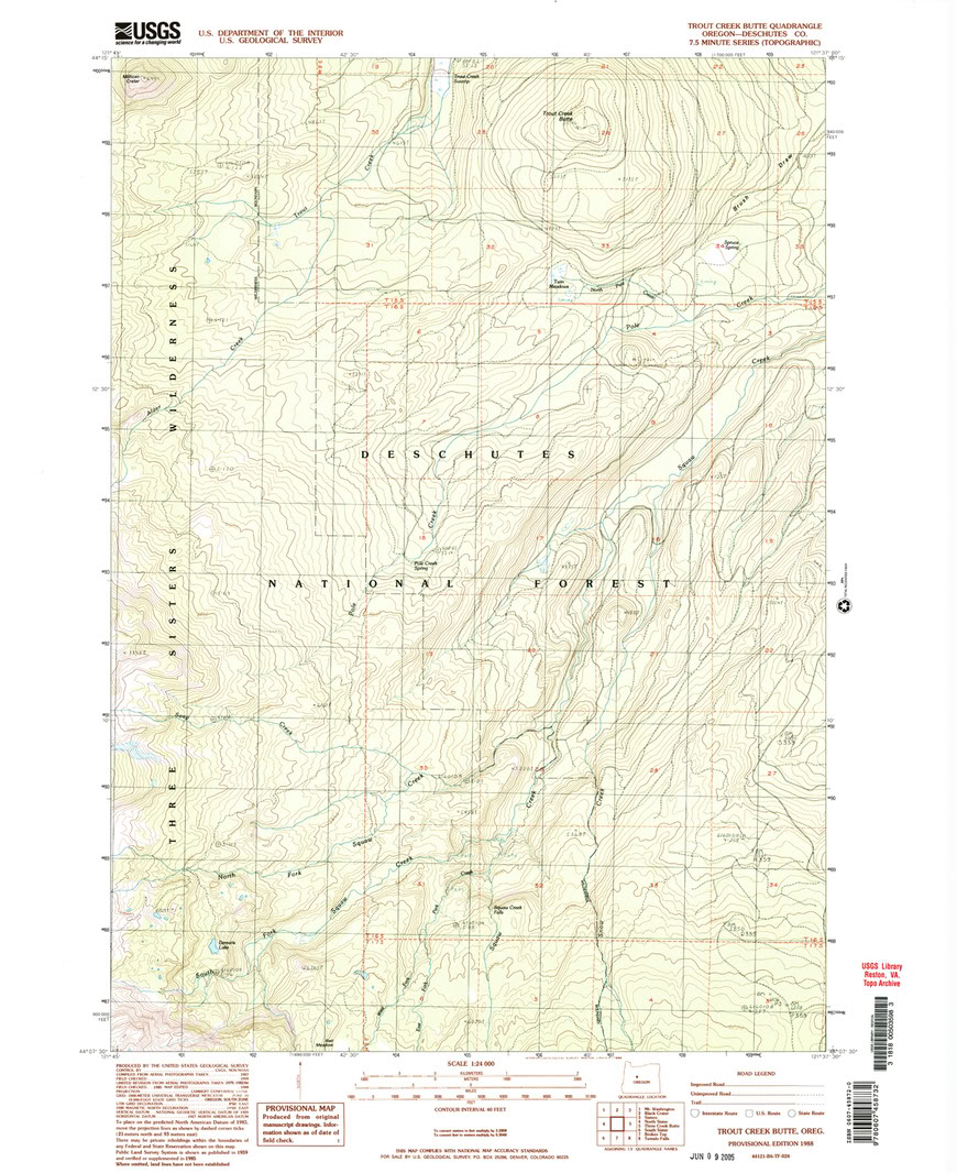 Datum and Projection Help needed OR_TroutCreekButte_281870_1988_24000_geo