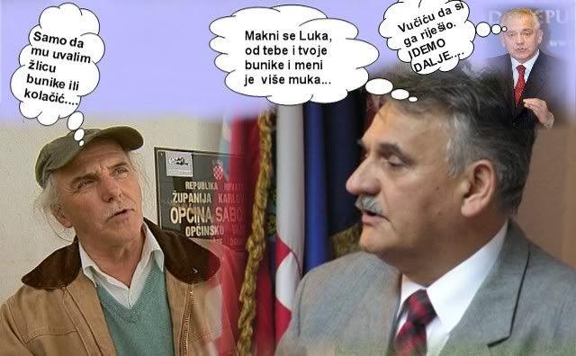 Vučić; Luka od tebe je svima muka. Hodak_vucic_sanader
