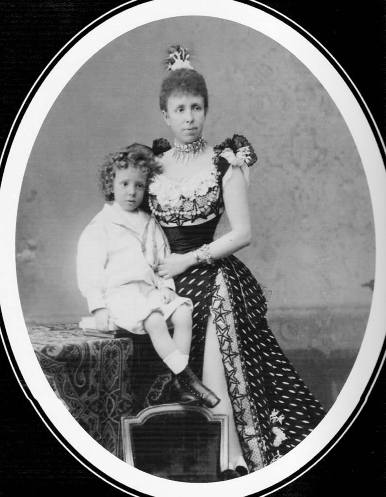 Maria Cristina de Habsburgo-Lorena Alfonsito