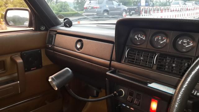 My Volvo 240 GL 1987 Goldie 20131009_163454