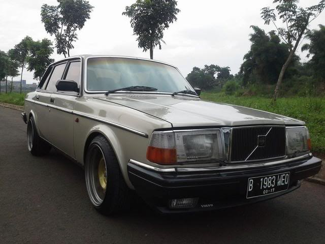My Volvo 240 GL 1987 Goldie 240bigrims