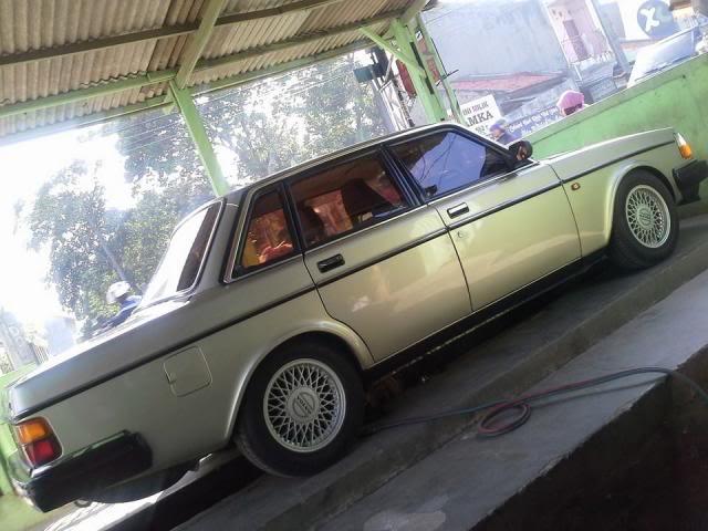 My Volvo 240 GL 1987 Goldie 240knalpotservice
