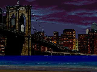 Amazing Spider-man by Sludge and Acey + Brooklyn Bridge Night stage BrooklynNight