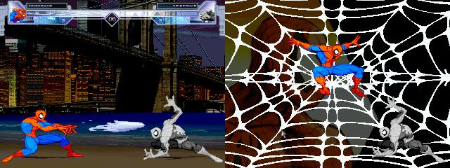Amazing Spider-man by Sludge and Acey + Brooklyn Bridge Night stage Spidey