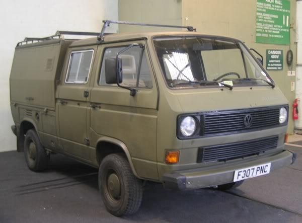 Volkswagen T3 Military DOKA 7
