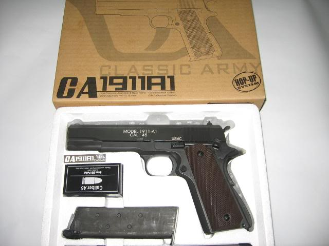 NEW ARRIVAL CA 1911A1 GBB IMG_2960